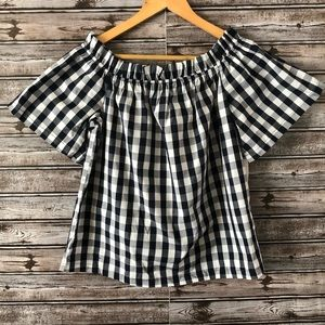 Plaid Top New with tags